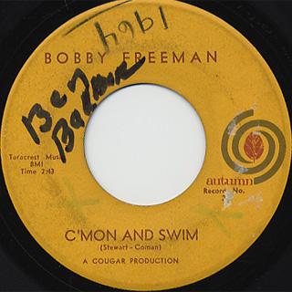Bobby Freeman C'mon And Swim