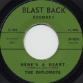 Diplomats / Here's A Heart c/w Precious Words