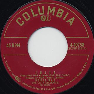 Doris Day / Julie c/w Love In A Home