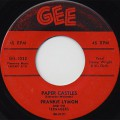 Frankie Lymon / Teenage Love c/w Paper Castles