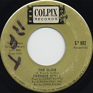 Freddie Scott / The Slide c/w Hey, Girl back