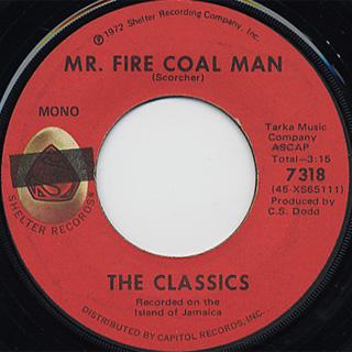 Hugh Roy / Flashing My Whip c/w The Classics / Mr. Fire Coal Man back