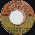 Joe Gibbs / Tribute To Donald Quarrie c/w Version