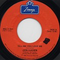 Jon Lucien / Tell Me You Love Me c/w How 'Bout Tonight