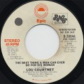 Lou Cortney / The Best Thing A Man Can Ever Do For His Woman c/w (Mono)