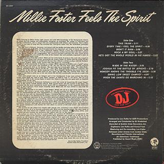 Millie Foster / Feels The Spirit back