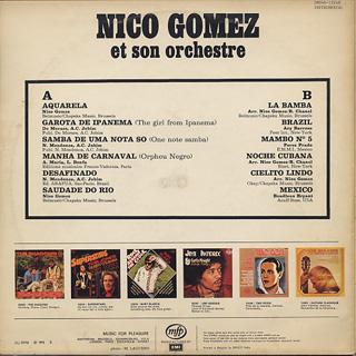 Nico Gomez And His Orchestra Bossa Nova