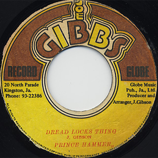 Prince Hammer / Dread Locks Thing c/w Mighty Two / Version