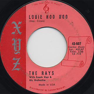 Rays / Louie Hoo Hoo c/w Magic Moon back