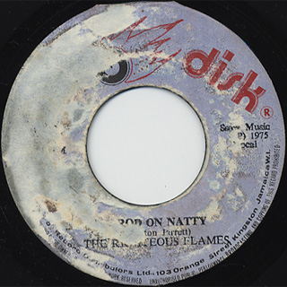Righteous Flames / Trod On Natty c/w Version