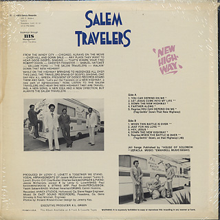 Salem Travelers / New Highway back