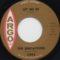 Sensations / Let Me In c/w Oh Yes I'll Be True