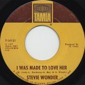 Stevie Wonder / Hold Me c/w I Was Made To Lover Her