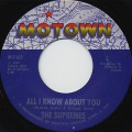 Supremes / All I Know About You c/w The Happening