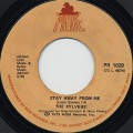 Sylvers / Stay Away From Me c/w I'll Never Be Ashamed