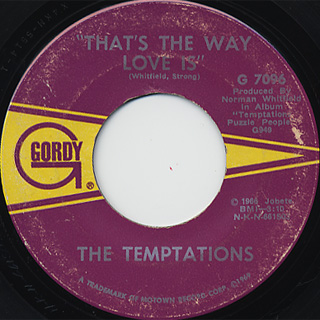 Temptations / How Can I Forget c/w Please Return Your Love To Me back