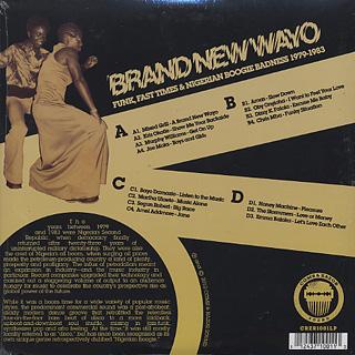 V.A. / Brand New Wayo back
