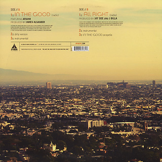 Visionaries / In The Good / All Right back