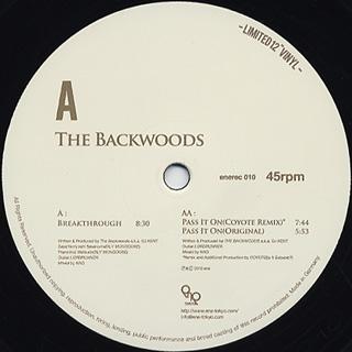 Backwoods / Breakthrough c/w Pass It On - Original&Coyote Remix