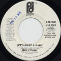Billy Paul / Let's Make A Baby