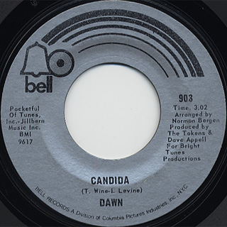 Dawn / Look At c/w Candida front