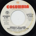 Deniece Williams / That's What Friends Are For