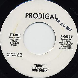 Don Dunn / Ruby