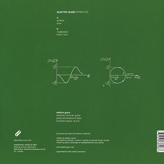 Electro Guzzi / Extrackt EP back
