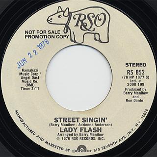 Lady Flash / Street Singin'