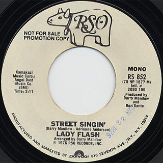 Lady Flash / Street Singin' back