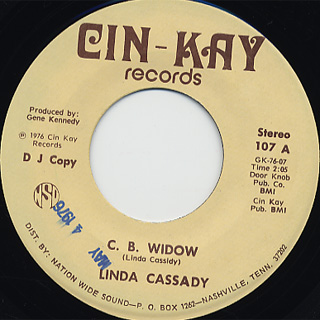 Linda Cassady / C.B. Widow c/w Do You Still Want What's Left Of Me