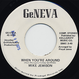 Mike Jemison / When You're Around