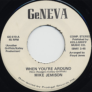 Mike Jemison / When You're Around back