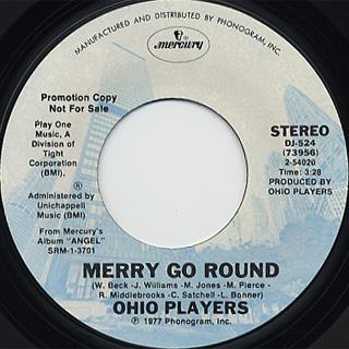 Ohio Players / Merry Go Round back