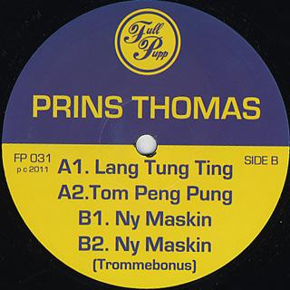 Prins Thomas / Lang Tung Ting back