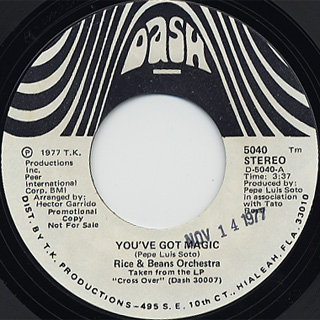 Rice And Beans Orchestra / You've Got Magic