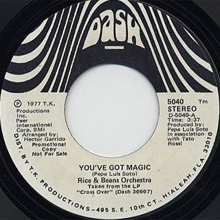 Rice And Beans Orchestra / You've Got Magic back