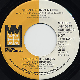 Silver Convention / Dancing In The Aisles (Take Me Higher)