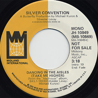 Silver Convention / Dancing In The Aisles (Take Me Higher) back