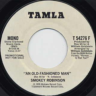 Smokey Robinson / An Old Fashioned Man back