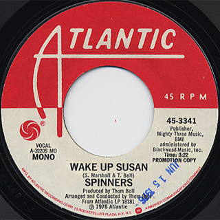 Spinners / Wake Up Susan back
