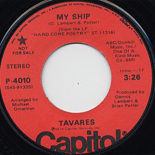 Tavares / My Ship