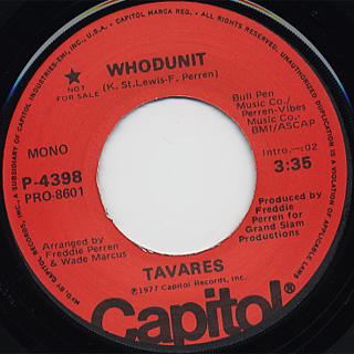 Tavares / Whodunit back
