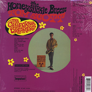 Tom Scott / The Honeysuckle Breeze (Reissue) back
