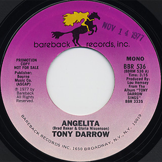 Tony Darrow / Angelita back