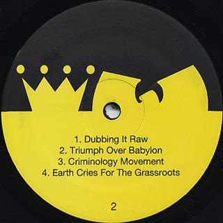 Wu-Tang Clan vs King Tubby / Macro Dubs back