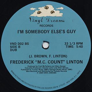 Frederick M.C. Count Linton / I'm Somebody Else's Guy back