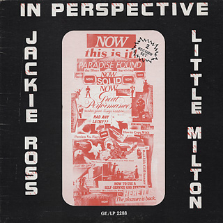 Jackie Ross and Little Milton / In Perspective