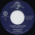 Joseph Henry And The Mighty Imperials / I've Never Found A Girl