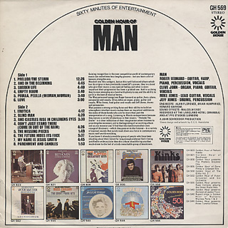 Man / Golden Hour Of Man back